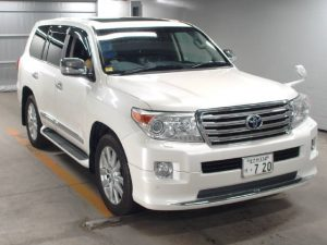 Toyota Land Cruiser ZX 2012