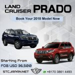 Book Your Brand New Toyota Land Cruiser Prado From Japan