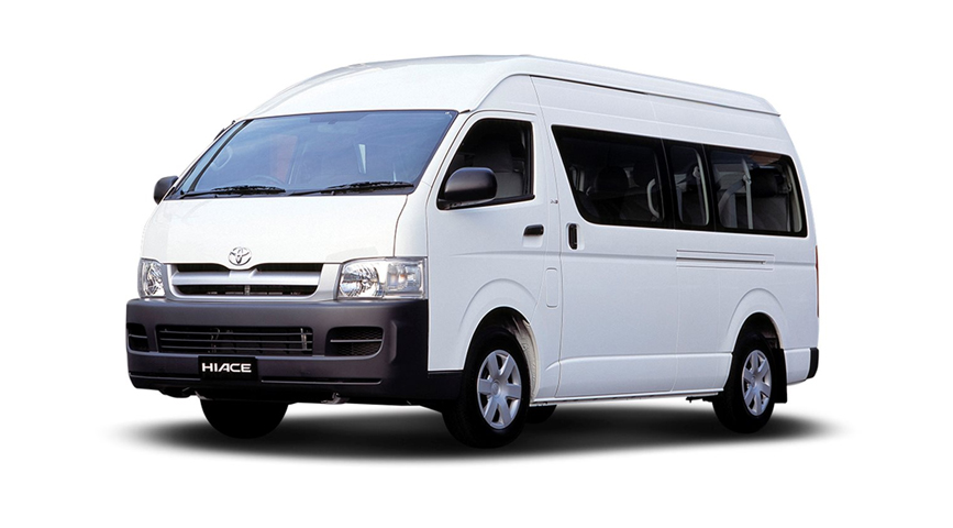 Toyota Hiace Commuter for Jamaica
