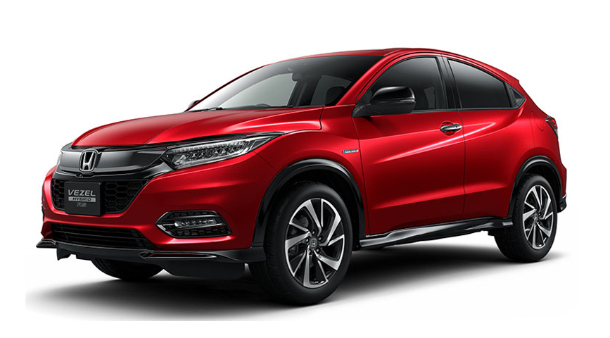 Honda Vezel Hybrid vehicle from Japan