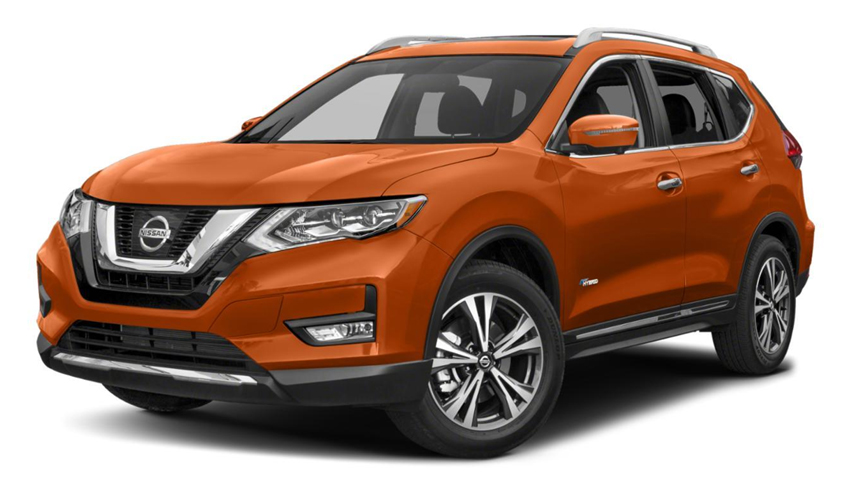 Nissan Xtrail Hybrid vehicle from Japan