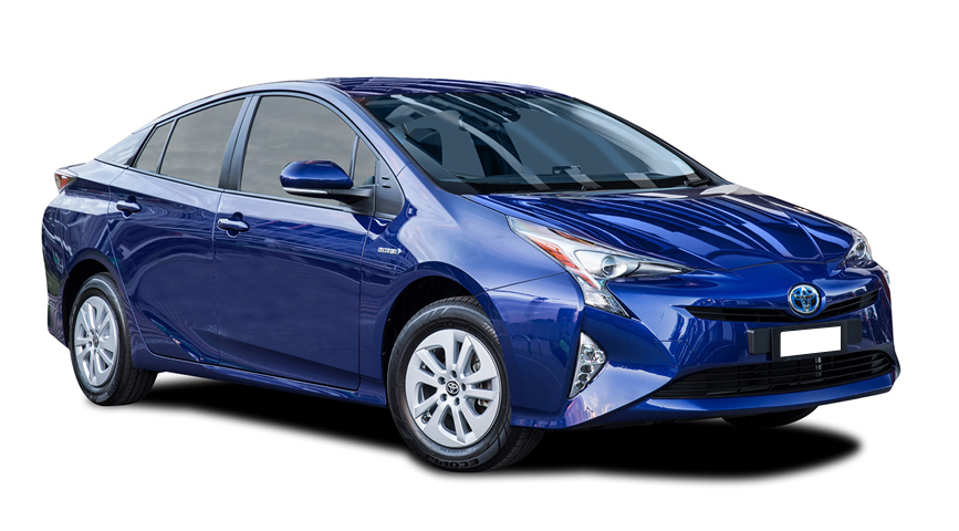 Toyota Prius Hybrid vehicle from Japan