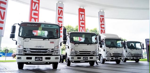 Import Isuzu ELF Trucks from Japan