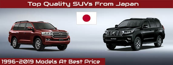 top quality SUVs from Japan